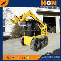 NEWLAND Brand Tracked mini skid steer loader snow removal equipments vehicles W7100t