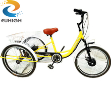 Battery assisted tricycle electric tricycle
