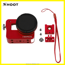 SHOOT for gopro Hero 5 Camera Frame Mount Protective Case Cover Aluminum Housing Shell Frame Digital Camera