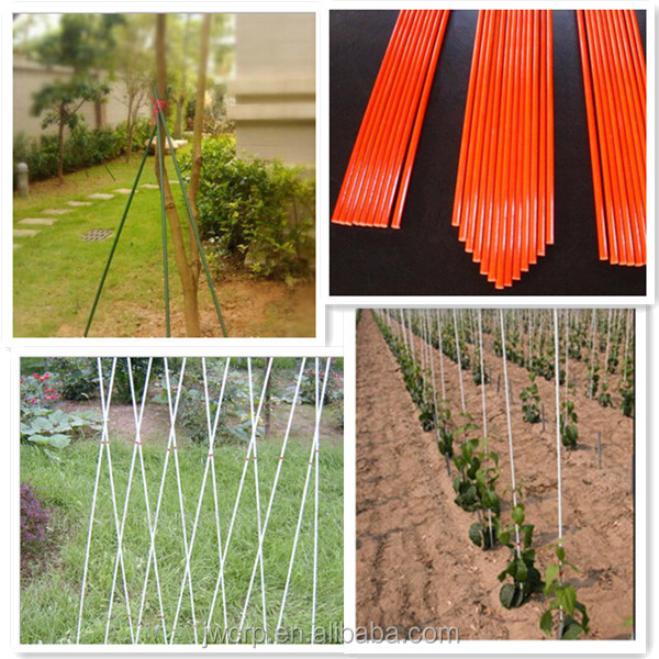 Fiberglass rods agricultural tree stakes