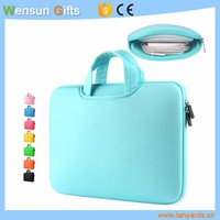 Promotional neoprene laptop case with handle