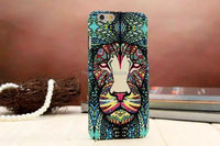 New arrival Animal Decal water printing hard PC phone case for iphone 6 custom pc case wholesale
