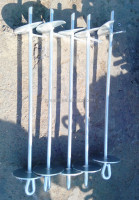 Earth Ground Anchor Auger Stake concrete stakes