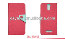 New Arrival Leather Phone Case For Lenovo P780,plastic cover for lenovo p780 case
