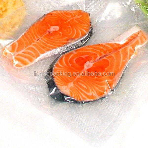 Fingers halogen fish cooking in oven
