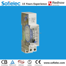 Europe hot sale 15 miniutes 24h Analogue ac switch timer CE approvl