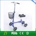 adjustable height foldable knee scooter