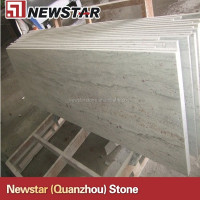 India new river white granite counter top for kitchen