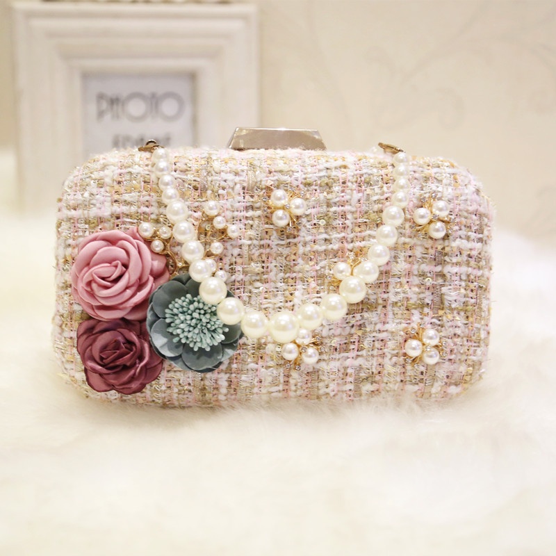 C73611A Womens evening clutch bags crystal and rhinestone evening bags