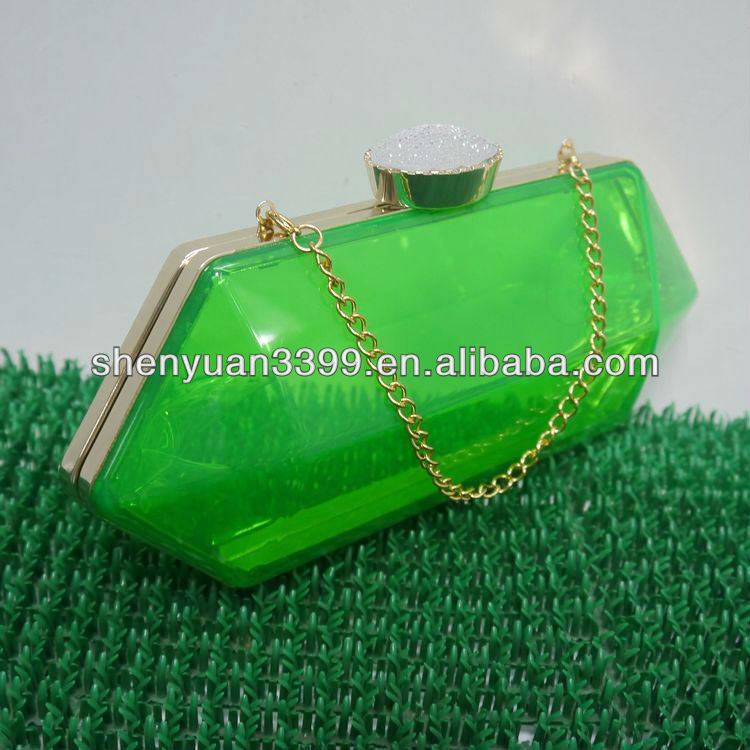 indian casual ladies acrylic evening bags and clutches