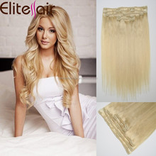 Factory Wholesale Easy To Wear Cheap Full head Clip In Brazilian Hair Extensions