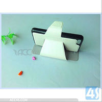 Leather Cell Phone Case Buckle with Stand for iPhone 5C P-IPH5CCASE039