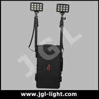 marine explosion-proof led flash lighting military explosion proof emergency flood light telescopic generator light tower