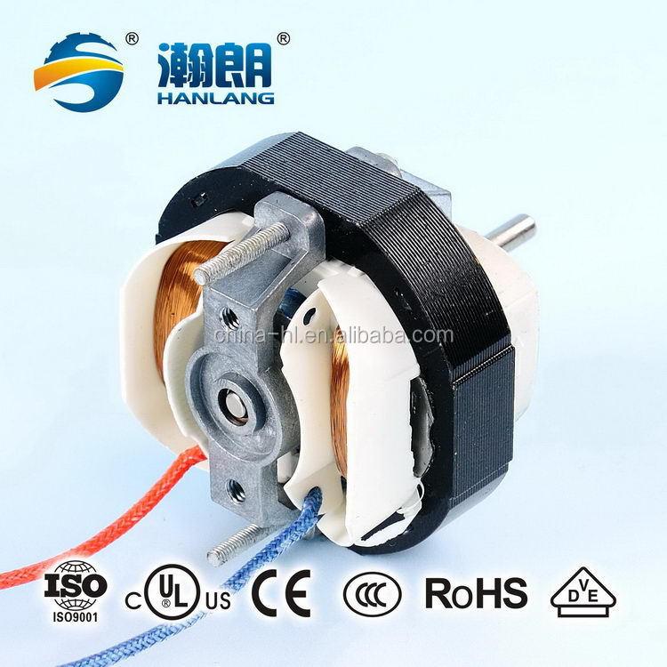 Shaded pole induction motor small ac fan motor for air for Shaded pole induction motor