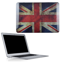 C&T England National Flag Plastic Matte Hard Case Cover Shell Protector Laptop For Apple MacBook Pro Air 13""