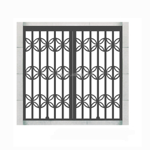 DIY Simple Metal Sliding Pull Gate Grill Designs