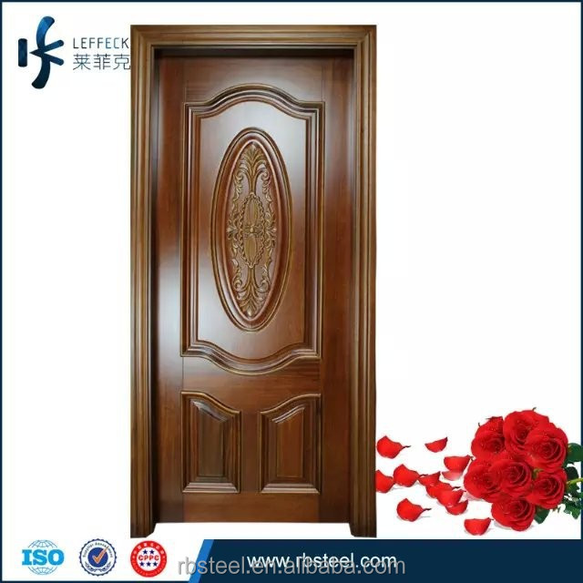 2015 latest design teak interior solid wood door buy for Door design latest 2015