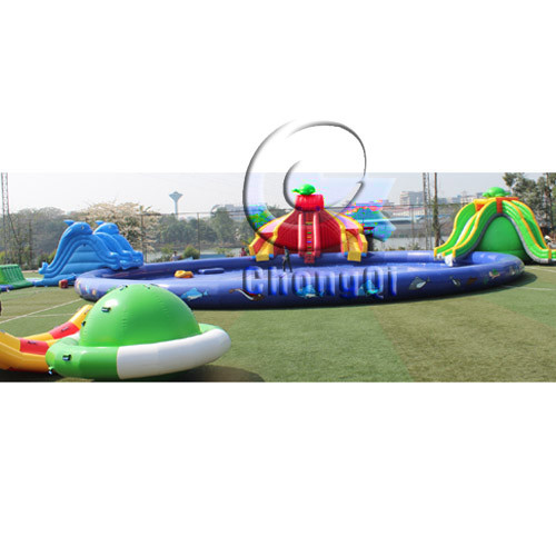 juego acuatico inflables water park inflable water game