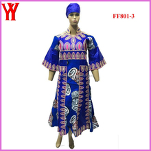 2016 newest bazin embroidery dress designs Nigeria style brocade riche dresses
