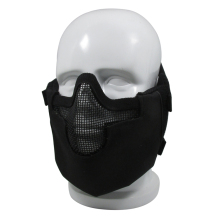 Tactical Full face steel mesh safety mask for cosplay