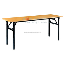 New 2018 Foldable Classroom Wooden Furniture Reading Table School Library