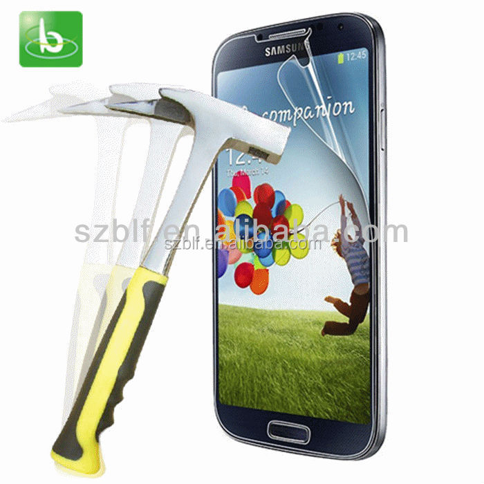 Best selling lcd screen guard clear mobile phone screen protector with design for Samsung galaxy s4 active screen protector