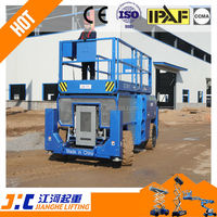 Diesel Drive Off-Road Scissor Platform Lift For Hot Sale