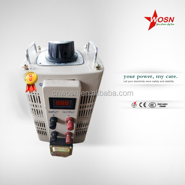 Single Phase TDGC 220V Voltage Regulator/Variac/Variable Transformer