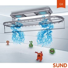 aluminium clothes ceiling clothes folding retractable ceiling electric clothes drying rack