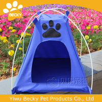 Oxford cloth Folding tent Dog house foldable removable pet tent