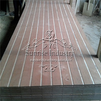 best quality slotted plywood