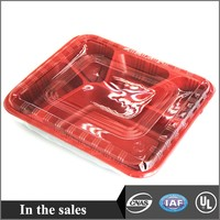 Plastic food tray-5C