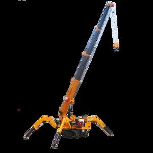 Beta CE/ISO9001 3 Tons Mini Telescope Boom Crawler Crane Price