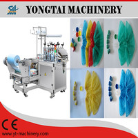 CPE shoe cover making machine without ultrasonic