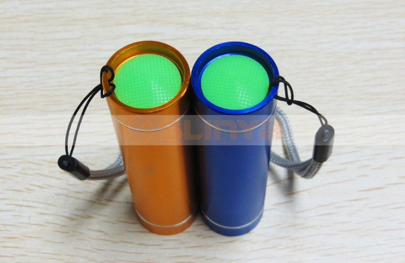 AAA Battery Colorful Refinement LED Flashlight