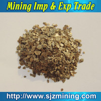 hebei origin golden yellow asbestos free vermiculite