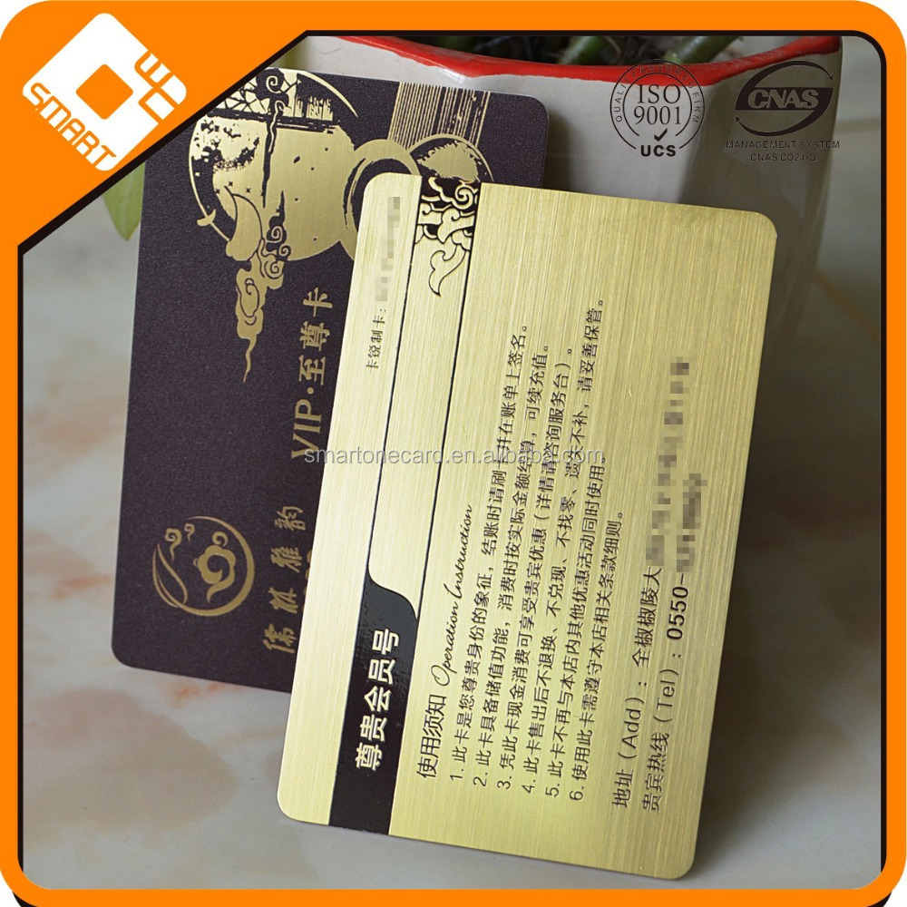 Cheap Customizable Frosted business cards for pvc card embosser machine