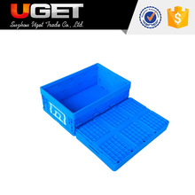 Good match European standard pallets logistic plastic moving stackable crates totes