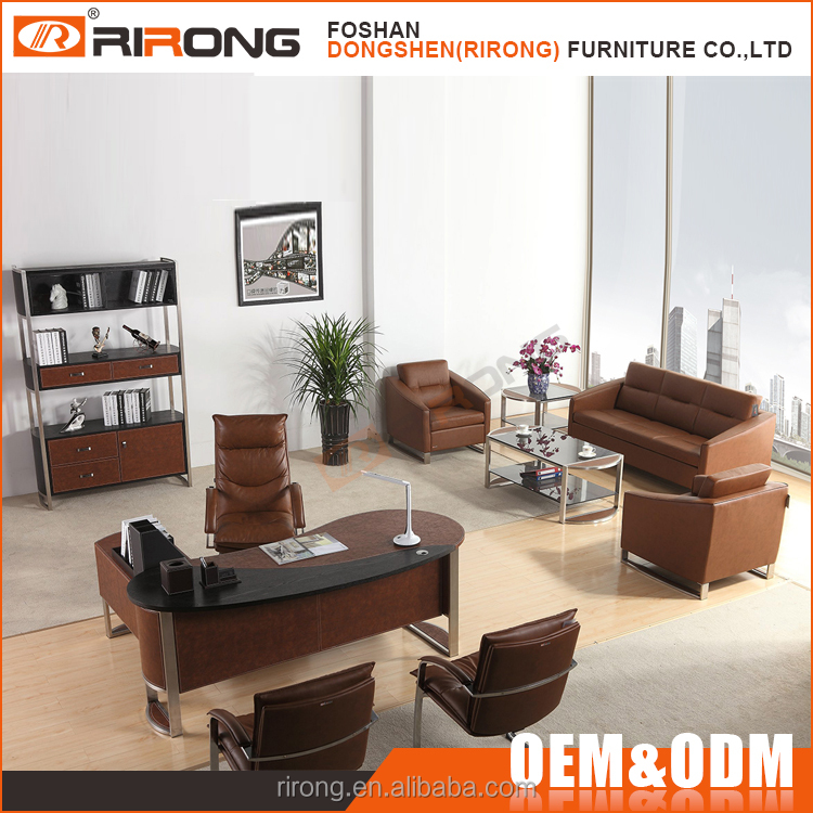 Latest Fashion Design Modern Executive Office Furniture With Desk and Chairs