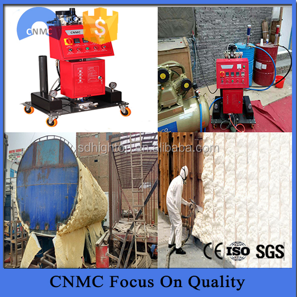 spray closed polyurethane cell foam polyurethane foam spray machine
