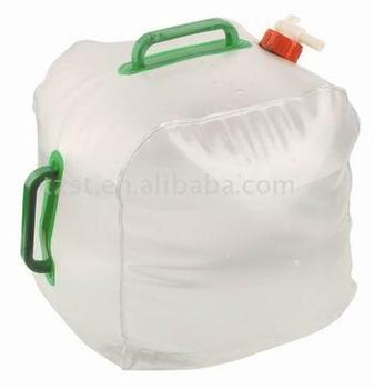pvc film collapsible 20L water jerry cans