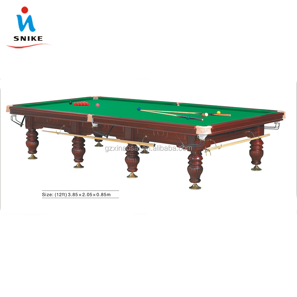 High quality billiard snooker game table with 6811 cloth