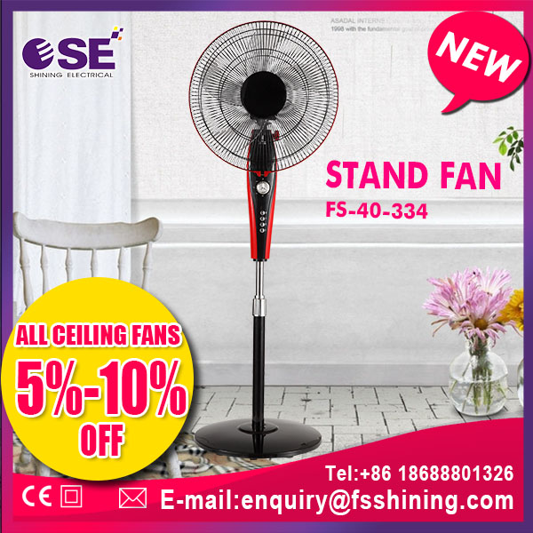 electronic china 220v promotion silent stand fan