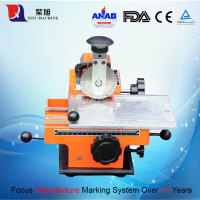 Manual Metal Number Punching Numbers Card Machine