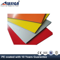 Alusign Super peeling strength wood exterior acp wall cladding