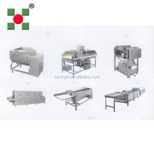iqf tunnel freezer french fries production line/frozen potato chips macking machine