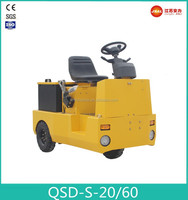 Top Quality Three- Wheel Seated Electric Tow Tractor