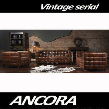 Aviator Italy Leather sofa A107