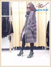 2015 New style mink fur coats,the whole fur of mink imported from Finland
