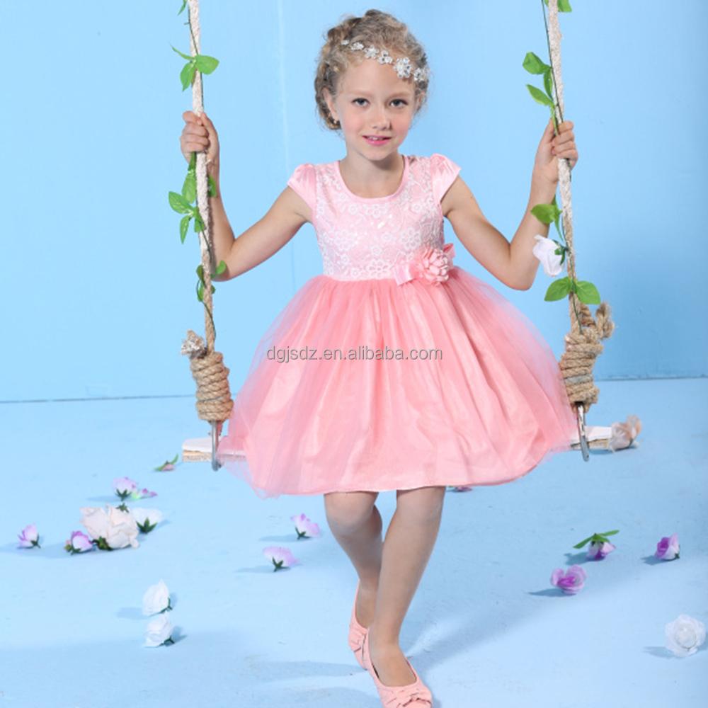 Venta caliente al por mayor elegante vestidos de fiesta para niñas ...